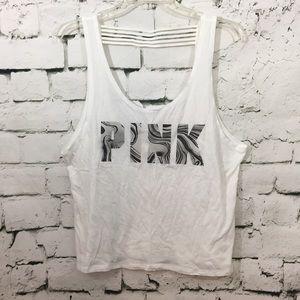 VS Pink oversized tank top